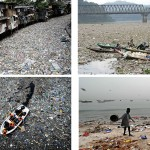 Garbage in the form of plastic waste leaves its indelible footprint in rivers and on beaches throughout the Developed World.  Source: Coastal Care