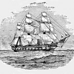 The H.M.S. Challenger left Portsmouth, England in 1872 on a 4-year expedition with physicists, chemists and biologists on board. The expedition mapped the oceans, studied the chemistry and physical properties, did depth soundings and brought back hundreds of formerly unknown animal and plant species.