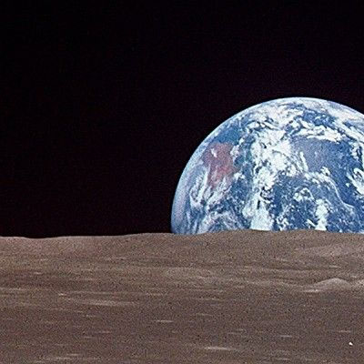 earthrise from moon apollo - photo #22