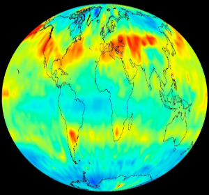 Carbon emissions are increasing the amount of CO2 in the atmosphere.