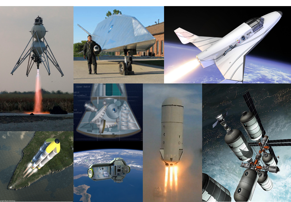 Many companies are planning to make money in near-Earth orbit space.