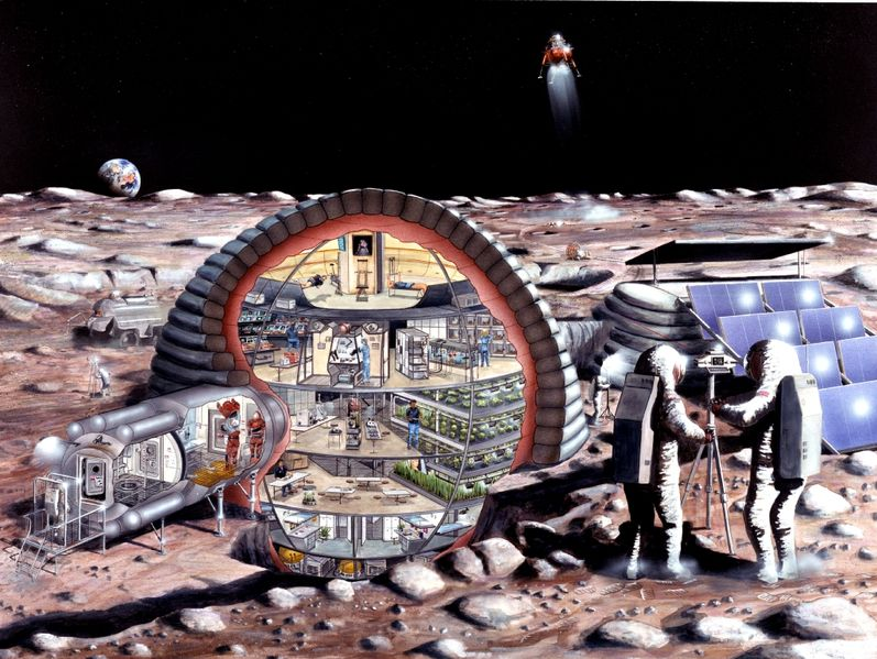 the base on moon by 2020 - photo #1