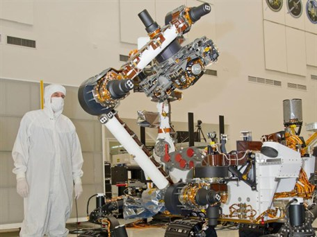 Mars Curiosity robotic arm