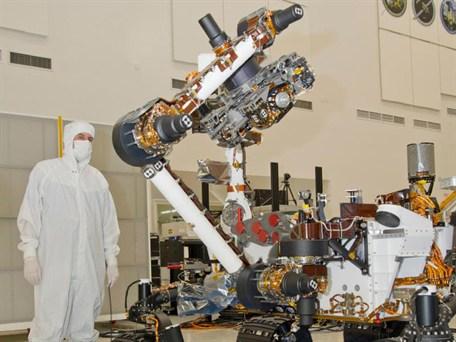 Mars Curiosity robotic arm