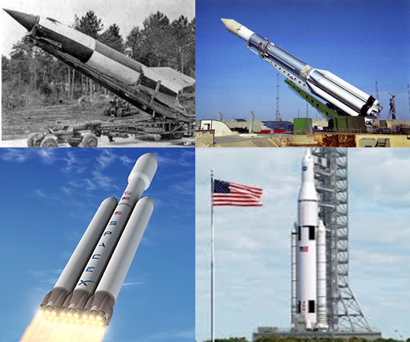 From the V2 to heavy lift rockets - war has stimulated rocket development