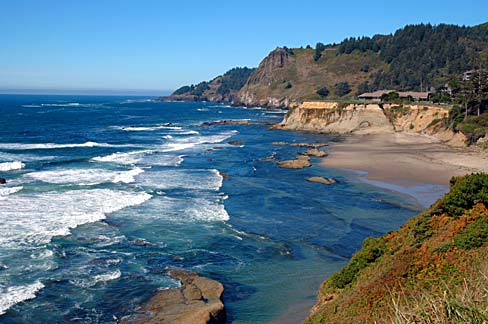 caffeine pollution off the Oregon coast