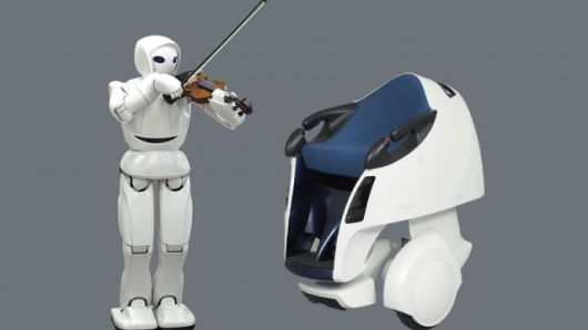 Toyota expands intelligent line of robots
