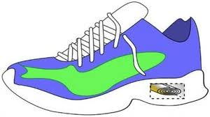 converting kinetic energy into power from a shoe
