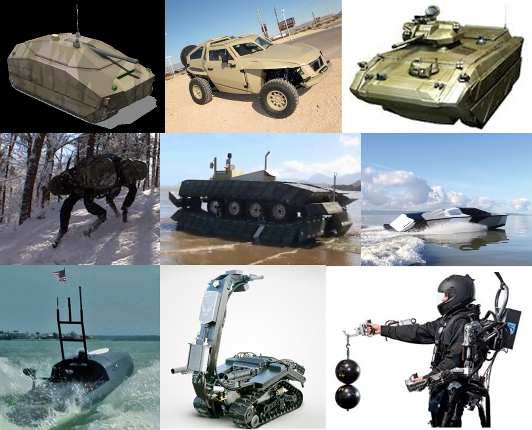 Military Transportation Future Concepts