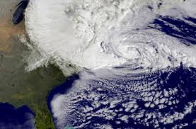Hurricane Sandy was the biggest Atlantic storm recorded in history. At its fullest the storm was wider than the State of Texas.