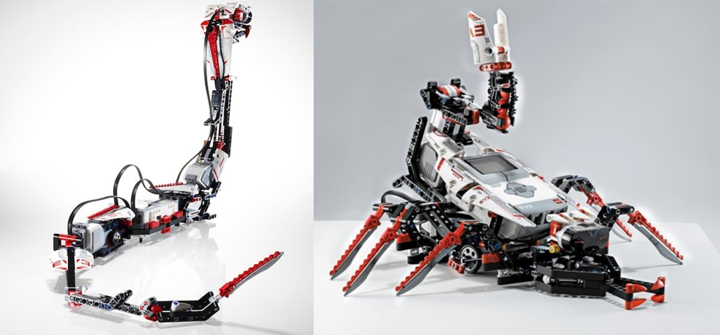 Lego Mindstorms Scorpion Robot
