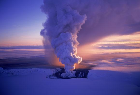 Vatnajokull Eruption