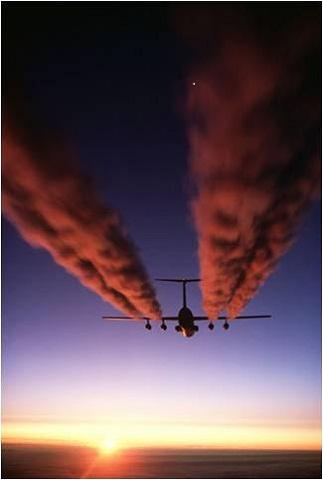 Aerosol chemtrails