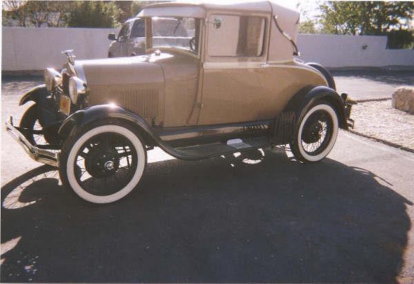 Dennis Cravens Model A Ford