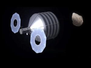 NASA asteroid capture mission