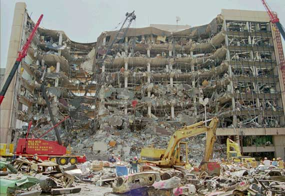 BUILDING BOMBING