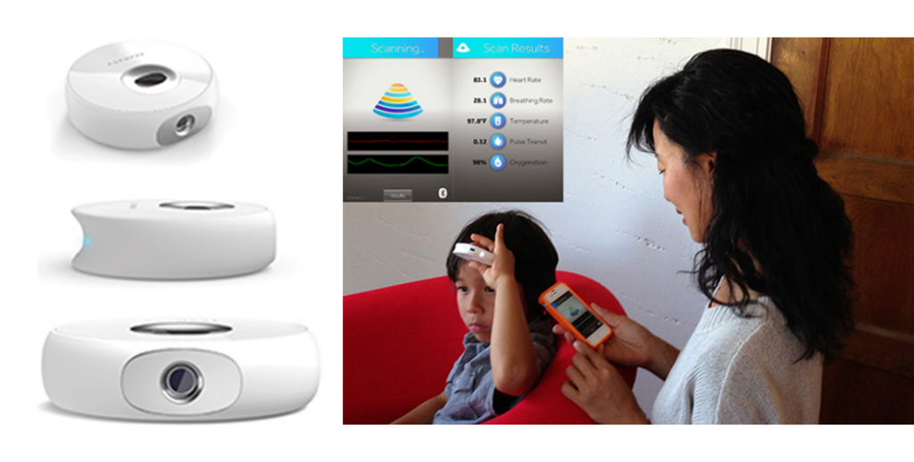 Scanadu Scout in Action