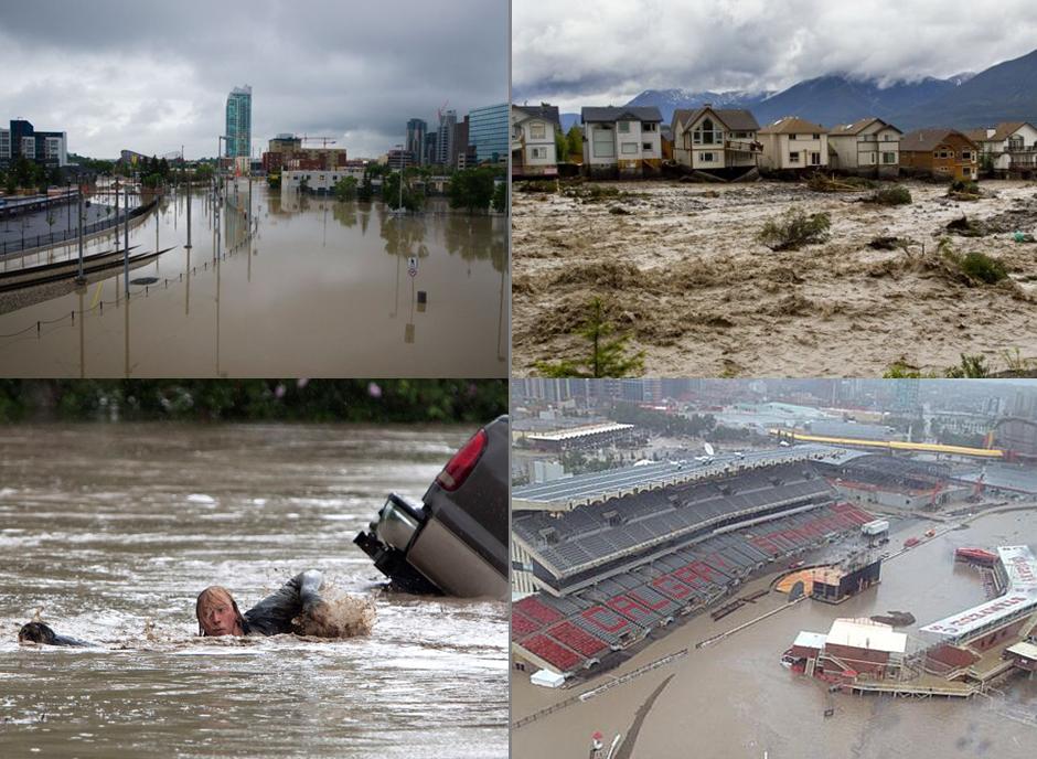 Calgary floods 2013