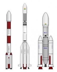 PSLV GSLV GSLV-III ISRO launchers