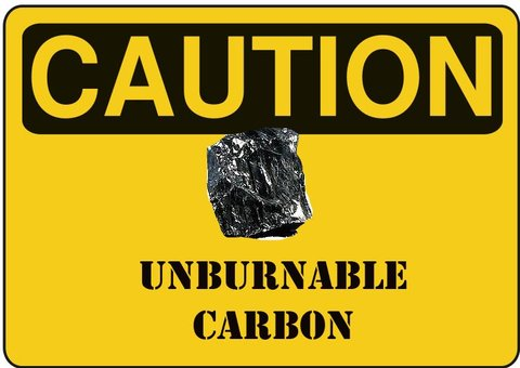 unburnable carbon