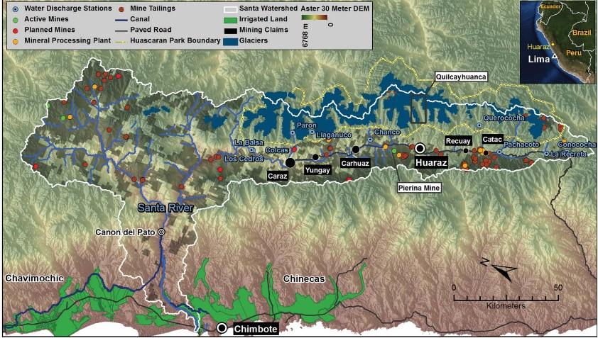 Santa River Peru