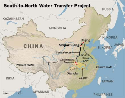 South-to-North Water Transfer Project China