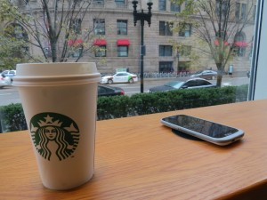 Starbucks Powermat photo