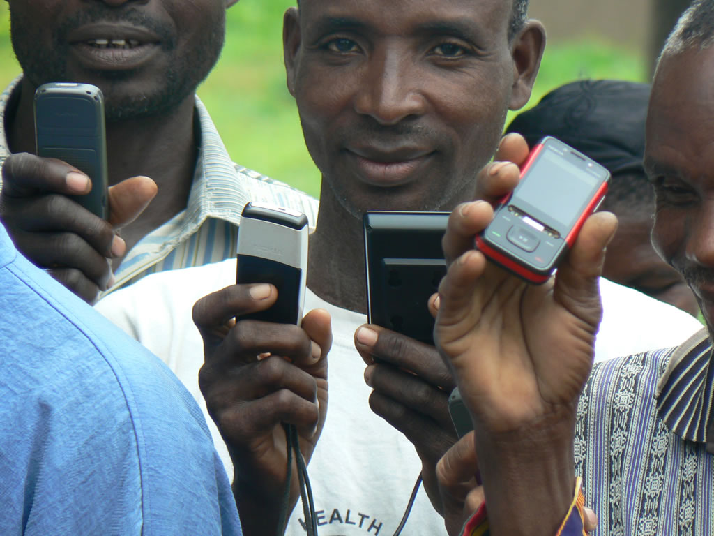 cell phones Africa