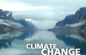 climate change ice field