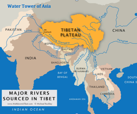 Worksheet. Rivers with Himalayan origins are susceptible to atmospheric warming