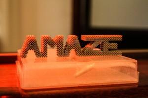 AMAZE honeycomb 3D printing