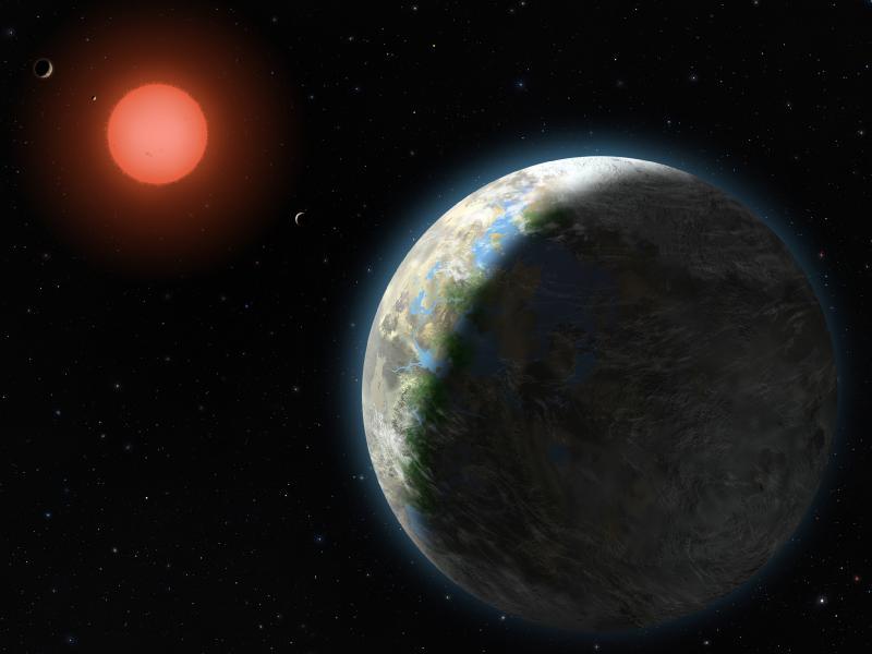 Gliese 581g exoplanet