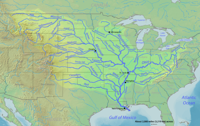 Part 2 Of Climate Change And The Rivers North America