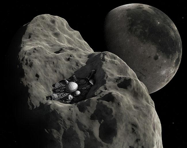 Asteroid habitation