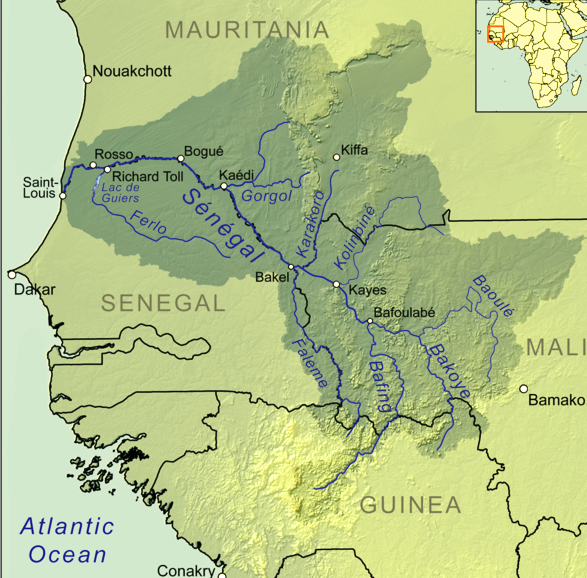 Part 3 of climate change and its impact on the rivers of africa senegal river gumiabroncs Gallery