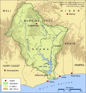 Volta River basin