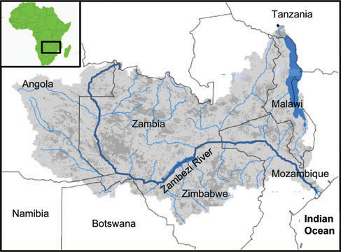 Part Of Climate Change And Its Impact On The Rivers Of Africa - African rivers by length