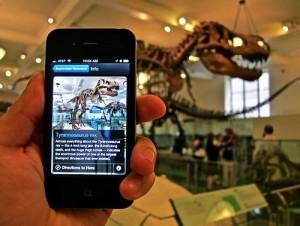Bluetooth Museum smartphone app