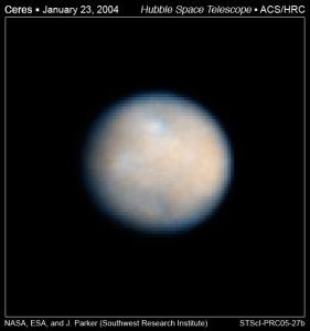 Ceres colour image