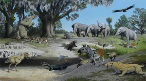 Pliocene flora and fauna