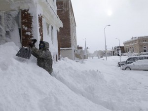 winter 2014 eastern North America
