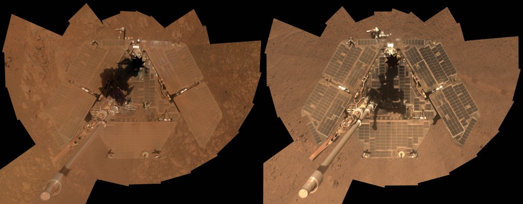 Opportunity before and after winter 2014