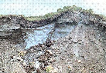 Permafrost_-_ice_wedge