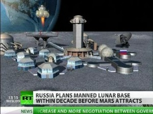 Russian moon base