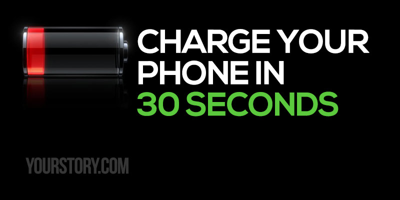 StoreDot charge your phone in 30 seconds