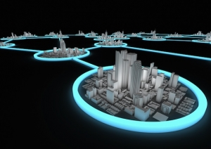 microgrid city view