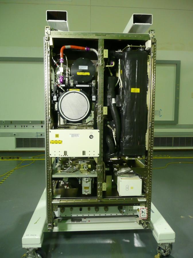 oxygen recovery NASA rack