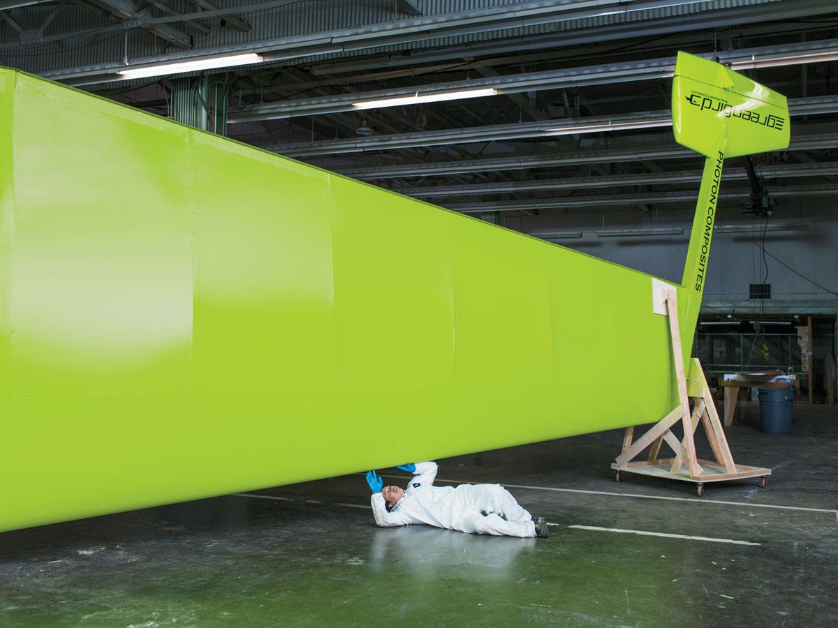 Carbon fiber wind sail