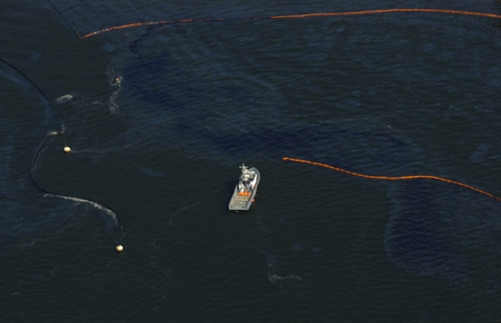 Kinder Morgan oil spill Burrard Inlet