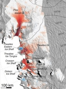 West Antarctic ice sheet status